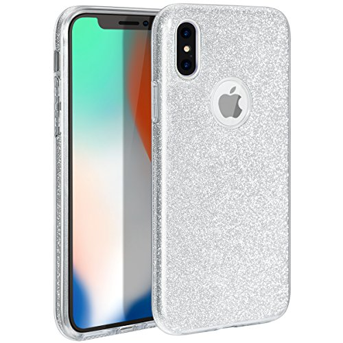 (MILPROX Glitter case for iPhone Xs iPhone X 5.8