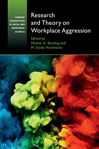 Read Online Research and Theory on Workplace Aggression (Current Perspectives in Social and Behavioral Sciences) ebook