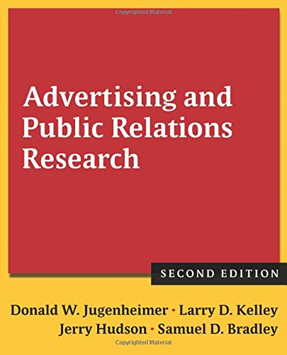 advertising and public relations research jugenheimer pdf
