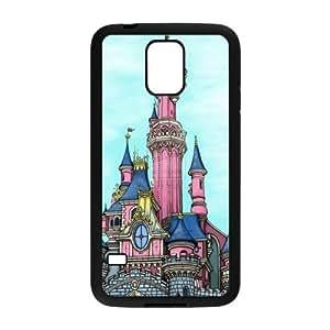 Custom Fairytale Castle Design Samsung Galaxy S4 Plastic Case Cover by icecream design
