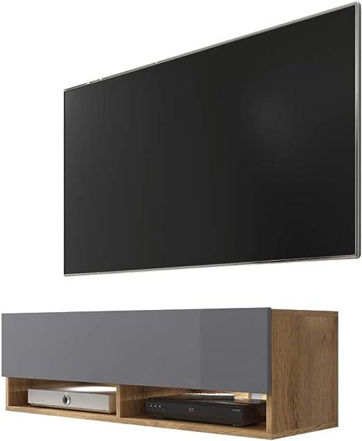 Selsey 5.90303E+12 Mueble para televisor, Chêne Wotan/Gris ...
