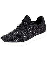 Reveal Women's Glitter Fashion Sneaker