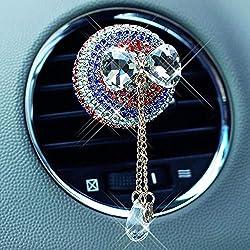 Crystal Pendant Clip Car Fragrance