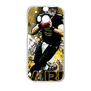New Orleans Saints HTC One M8 Cell Phone Case White persent zhm004_8460073