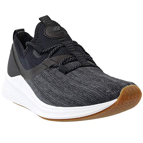 New Balance Women's Fresh Foam Lazr v1 Running Shoe, Black/White Munsell, 9 B US (Black And White 2 V1 2 Trainer)