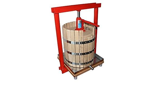 Prensa hidráulica GP-30 - exprimidor para las manzanas, uvas, de bayas, de primer plano, de vino, cidio: Amazon.es: Hogar