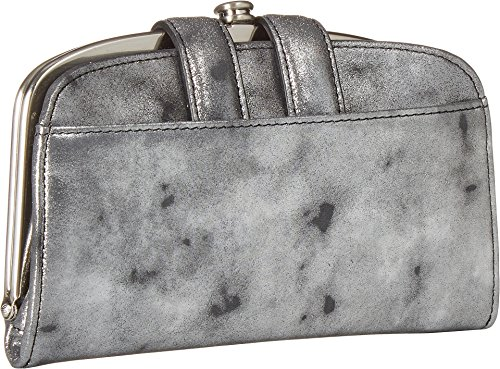 Wallet Compact Vintage Halo Hobo Leather Smoke Womens Xq4BqIwxH