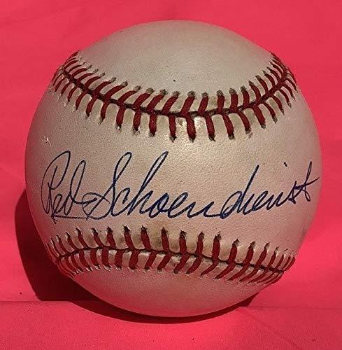 Red Schoendienst Autographed Signed Baseball Nl Ball Auto Autograph Hof Cardinals Psa/Dna ()