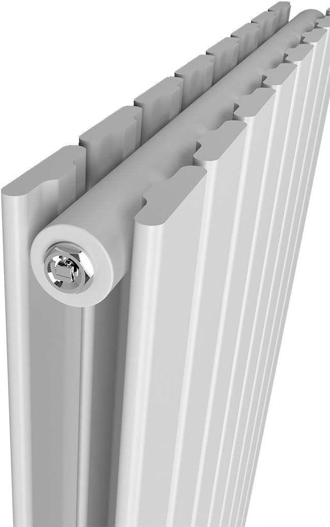 Safeni Heizk/örper Flachheizk/örper Heizwand Design 630x620mm Flache Form Einlagig doppellagig Heizk/örper f/ür wohnzimmer