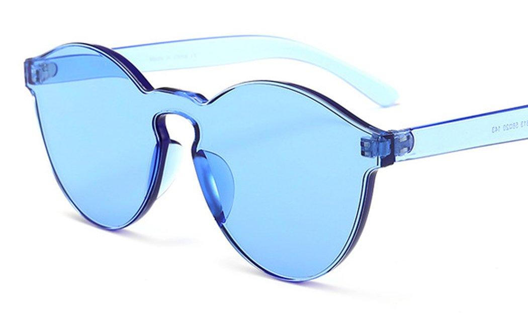 Caramella Colore Bicchieri, Joyibay Occhiali Occhiali da Sole No Telaio Moda All Aperto Occhiali da Sole per Uomini Donne