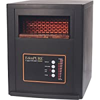 EdenPURE CopperSMART No Bulbs to have to Replace 1500-Watt Electric Portable Heater with Remote Control