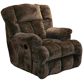 Catnapper Cloud 12 Power Chaise Recliner   Chocolate