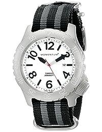 Momentum 1M-DV74L7S Men's Torpedo Sport Wrist Watches, White