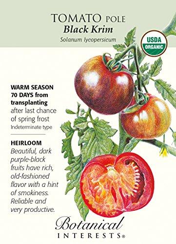 Black Krim Tomato Seeds - .15 grams - Organic (Krim Tomato Black)