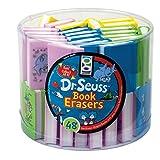 Raymond Geddes Dr. Seuss Book Eraser 48 Pack (69689)