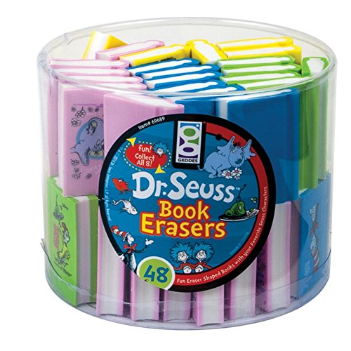 Book Eraser 48 Pack