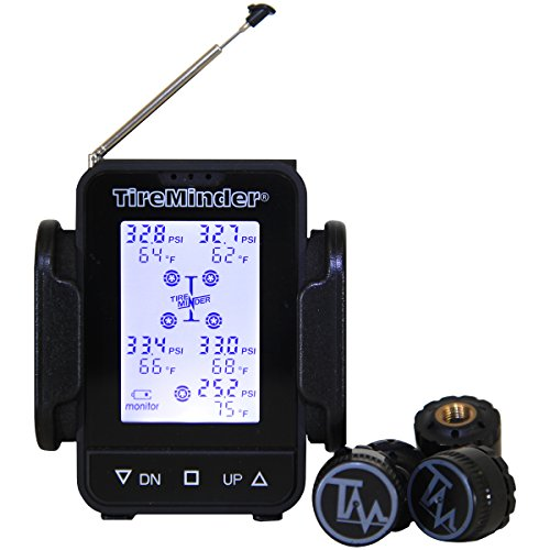 TireMinder TM55c-B Tire Pressure Monitoring System (TPMS) for Trailers, Travel Trailers, Toy Haulers, 5TH Wheels And More - Tire Minder Rv