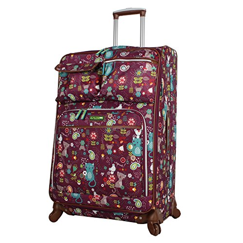 Lily Bloom Luggage Large Expandable Design Pattern