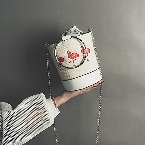 Messager fée Flamant Sac Harajuku blanc Department Sac de Sen de Sac Le Petit Simple Petit de d'été Paille sur Femelle Frais et de de WSLMHH Plage zwPSFqx