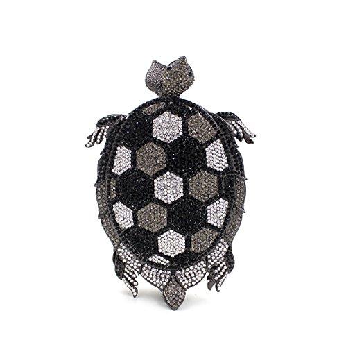 préféré luxe mariage sac fête sac de Strass cadre de à soirée B main métallique Mesdames Tortue de Pochette 4w5RqOgv