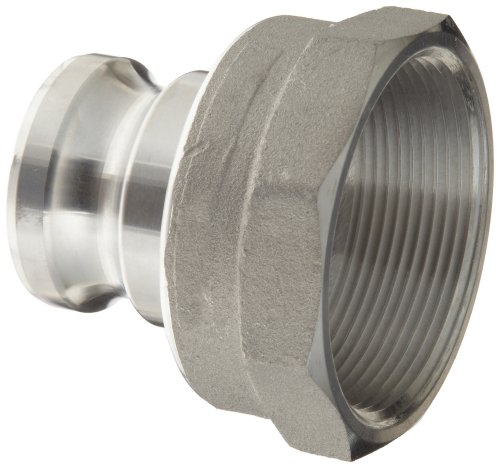 Dixon 2030-A-AL Aluminum Type A Cam and Groove Reducing Hose Fitting, 2