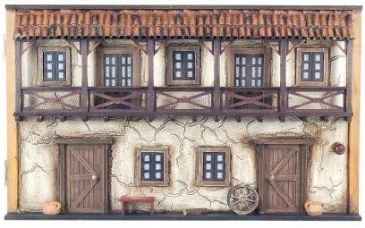 CAPRILO Tapa Contador Pared Decorativa de Madera Casa Antigua. Guardallaves. Cajas Multiusos. Decoración Hogar. Regalos Originales. 30 x 50 x 11 cm.: Amazon.es: Hogar