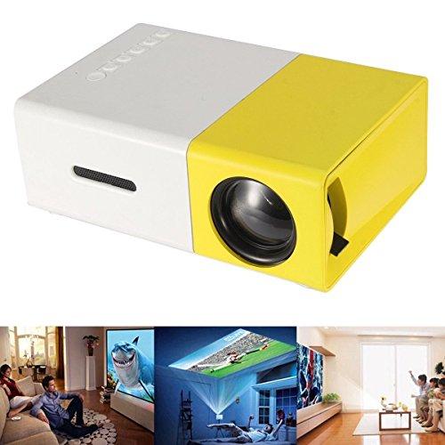 휴대용 미니 LCD 프로젝터, 멀티미디어 1080P LED 피코 모바일 프..