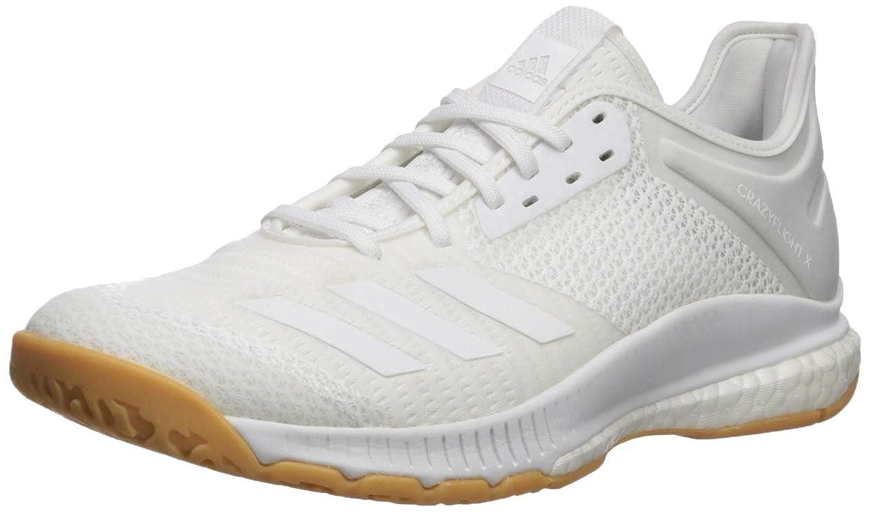 Blanc blanc Gum Adidas Crazyflight X 3 Chaussures de Volleyball pour Femme 45 EU