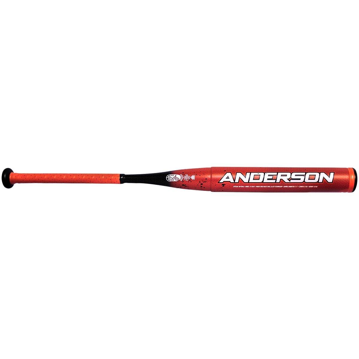 2018 Anderson RockeTech (- 9 ) Fastpitch Softball Bat B076CQ5BLN 31 Inch / 22 oz.