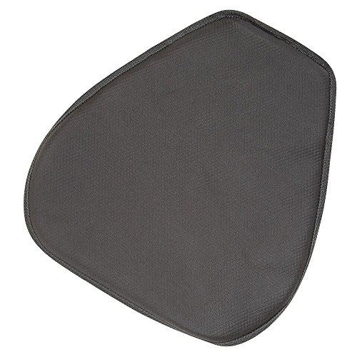 SPEEDMETAL Medium Gel Seat Pad - MD, Black