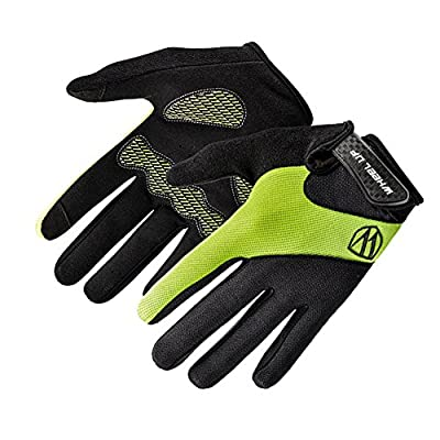 EUBUY Unisex Men Women Winter Gloves,Hot Thermal Touch Screen Gloves Outdoor Windproof Sport Snowboard Mittens for Cycling Ski Hiking Hunting Climbing Bike Green S