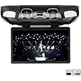 @ Lightinthebox negro 39,62 cm pulgada Samsung LCD HD LCD coche techo pantalla Digital Mount abaniquero conservativa juegos IR FM