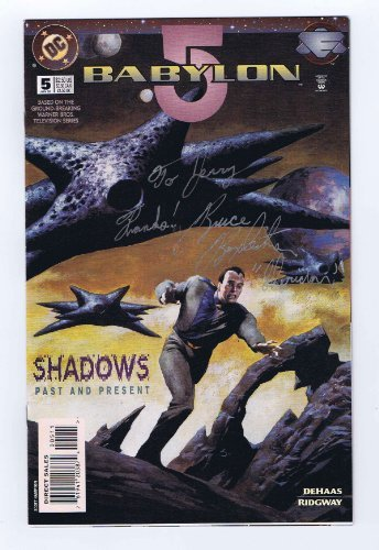Babylon 5 #5 Inscribed/Signed by Bruce Boxleitner 1995 DC Comics