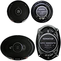 2) Kenwood KFC-1395PS 5.25 320W 3-Way + 2) 6x9 650W 5-Way Car Coaxial Speakers