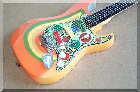 George Harrison miniatura de Rocky Beatles para guitarra Fender ...
