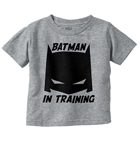 Bat in Training Funny Superhero Comic Nerd Infant Toddler T Shirt