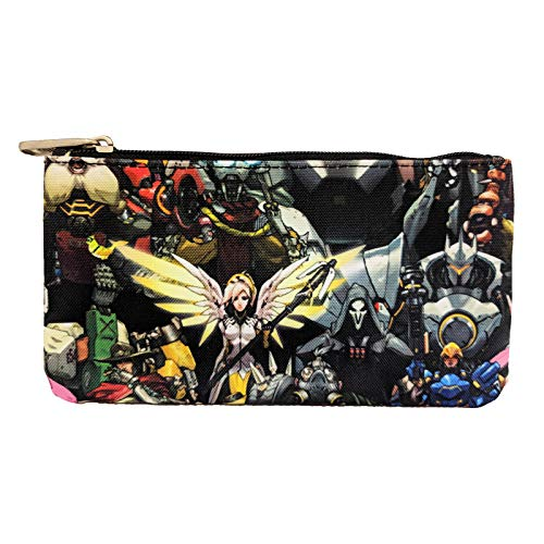 Amazon.com: Loungefly Overwatch Character All Over Print ...