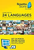 Rosetta Stone Lifetime Download with 24 Month Online Access