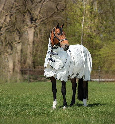 RAMBO Horseware Optimo Supreme - Alfombra de Verano Desmontable para Caballo (69_5'9