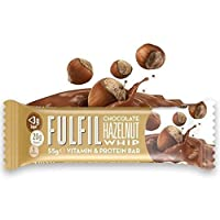 Fulfil Hazelnut Whip Vitamin and Protein Bar, 55 g, Pack of 15