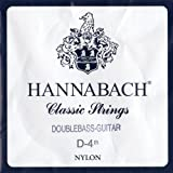 Hannabach 8414 MT Double Bass Guitar D4, Scale length 75cm