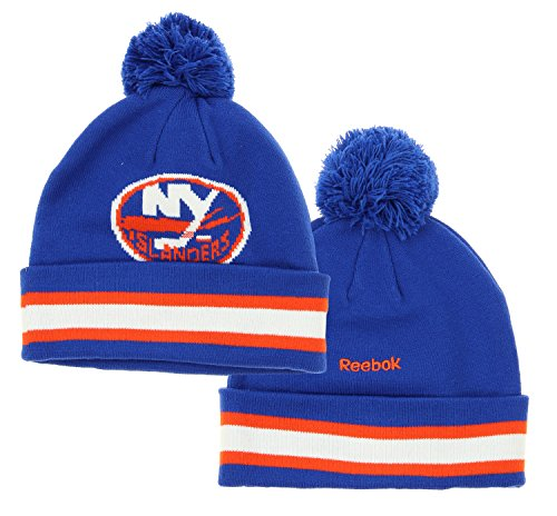 new york islanders knit pom hat - 3