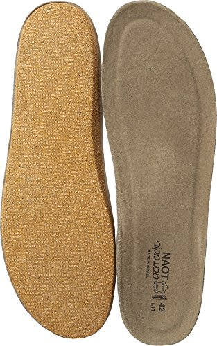Naot Footwear Women's FB01 - Scandinavian Replacement Footbed Beige Insole 38 (US Women's 7) M