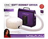 Ionic Soft Bonnet Dryer Purple/Black 1 pcs sku# 1820768MA