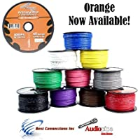 10 GA GAUGE 100 FT SPOOLS PRIMARY AUTO REMOTE POWER GROUND WIRE CABLE (3 ROLLS)