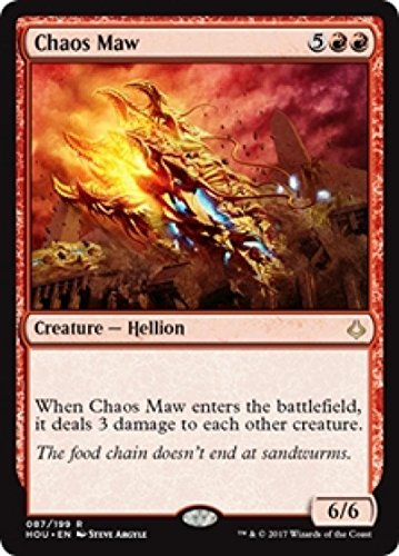 (Magic: the Gathering - Chaos Maw (087/199) - Hour Of Devastation)