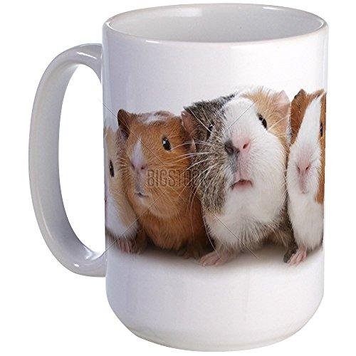 CafePress - Five Guinea Pigs Large Mug - Coffee Mug, Large 15 oz. White Coffee Cup