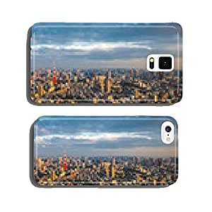 Tokyo aerial panoramic view cell phone cover case Samsung S6