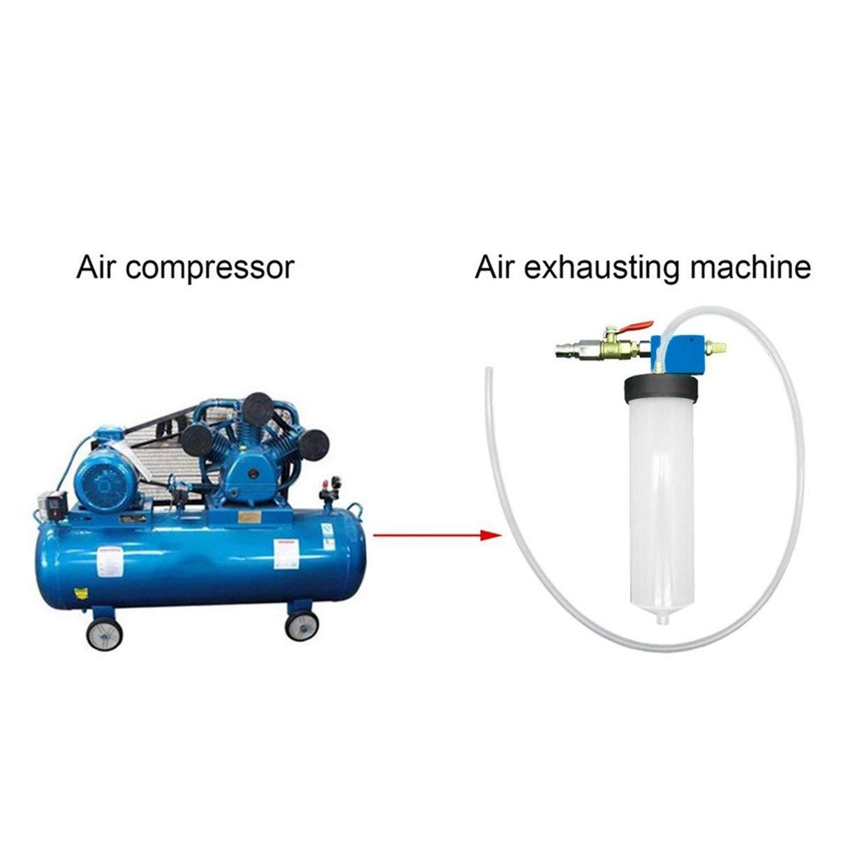 JullyeleESgant Herramienta de reemplazo de Cambio de Aceite del líquido de Freno del automóvil Automático Embrague hidráulico Bomba de Aceite Depurador de ...