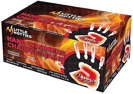 Hours Grabber Outdoor Heat Fingers Pocket Hand Warmer 2//Pk HWES 40 Pk 7